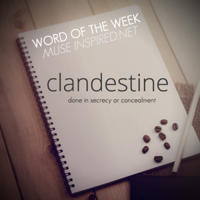 Word of the Week: Clandestine