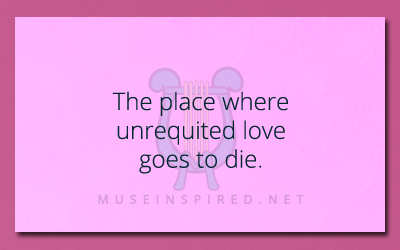 Siring Settings – A place where unrequited love goes to die.