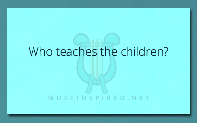 Cultivating Cultures – Who teaches the children?