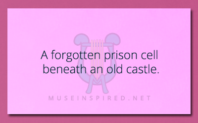 Siring Settings – A forgotten prison cell beneath an old castle.