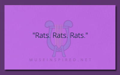 "What's the Story – ""Rats. Rats. Rats."""