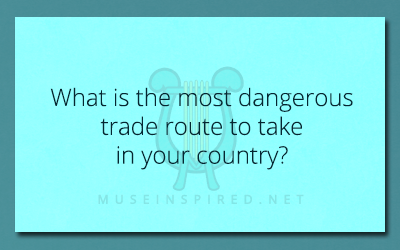 Cultivating Cultures – What is the most dangerous trade route to take in your country?