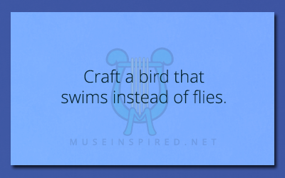 Crafting Creatures – Craft a bird that swims instead of flies.
