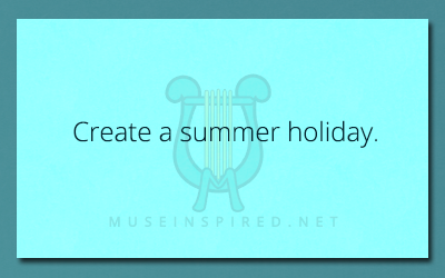 Cultivating Cultures – Create a summer holiday.