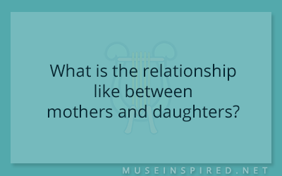 Cultivating Cultures – What is the relationship like between mothers and daughters?