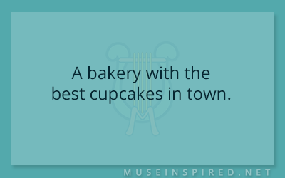 Siring Settings – A bakery with the best cupcakes in town.