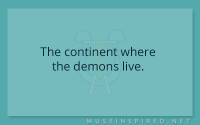 Siring Settings – The continent where the demons live.