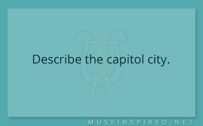 Cultivating Cultures – Describe the capitol city.
