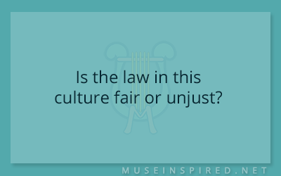 Cultivating Cultures – Is the law in this culture fair or unjust?