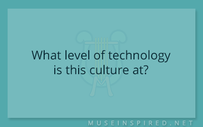 Cultivating Cultures – What level of technology is this culture at?