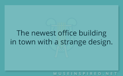 Siring Settings – The newest office building in town with a strange design.