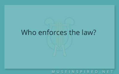 Cultivating Cultures – Who enforces the law?