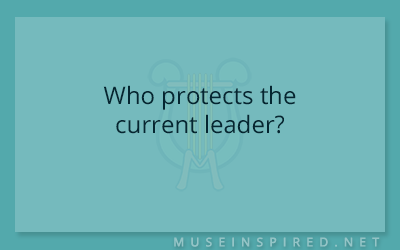 Cultivating Cultures – Who protects the current leader?