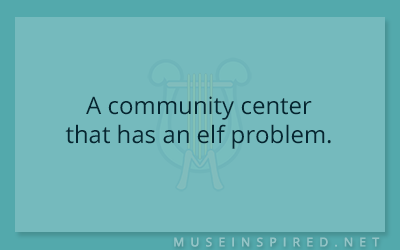 Siring Settings – A community center that has an elf problem.