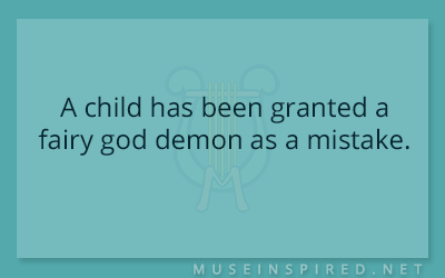 What's the Story – A child has been granted a fairy god demon as a mistake.