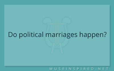 Cultivating Cultures – Do political marriages happen?