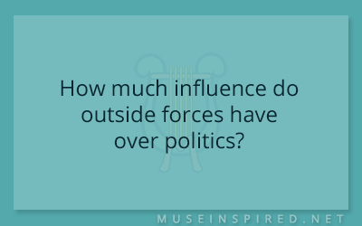 Cultivating Cultures – How much influence do outside forces have over politics?